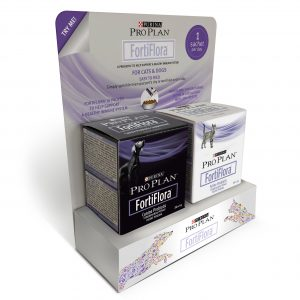 Image shows FortiFlora which is a veterinary probiotic