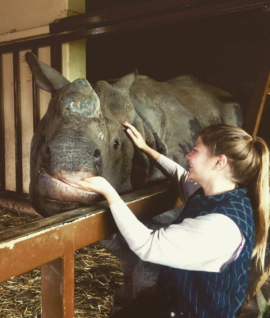 interview with catherine hauw wildlife and travelling vet