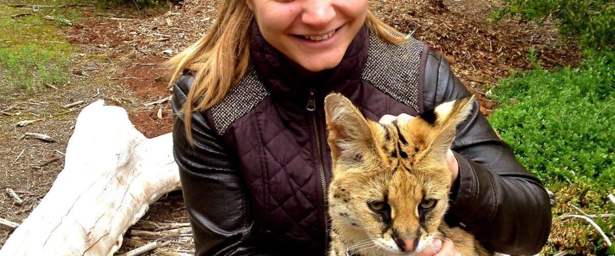 Catherine Hauw, wildlife vet