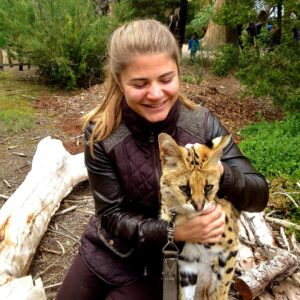 Catherine Hauw, wildlife vet